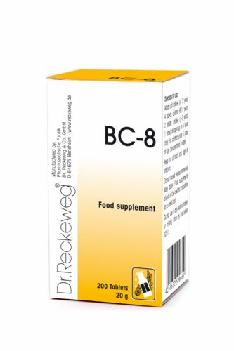 Schuessler BC8 combination cell salt - tissue salt